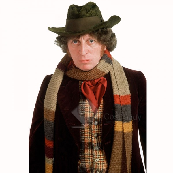 Doctor Who Fourth 4th Doctor Waistcoat Cosplay Cos...