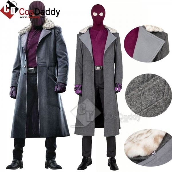 The Falcon and The Winter Soldier Zemo Jacket Cosp...