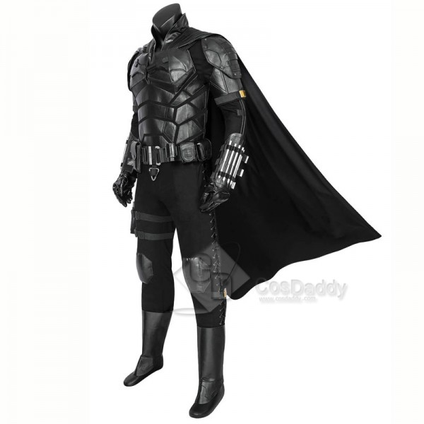 2021 DC The Batman Bruce Wayne Robert Pattinson Cosplay Costume Batsuits