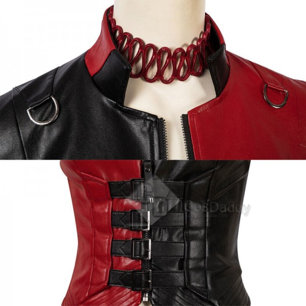 2021 Harley Quinn The Suicide Squad 2 New Harley Quinn Cosplay Suit Costumes