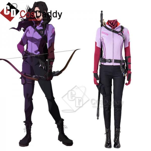 2021 Hawkeye Kate Bishop Costumes Uniform Cosplay ...
