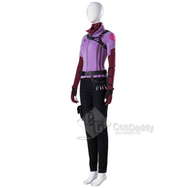 2021 Hawkeye Kate Bishop Costumes Uniform Cosplay Suit Halloween Carnival Costumes