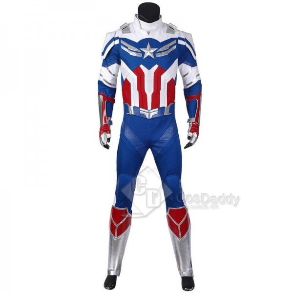 CosDaddy The Falcon and the Winter Soldier Sam Wilson Cosplay Costume