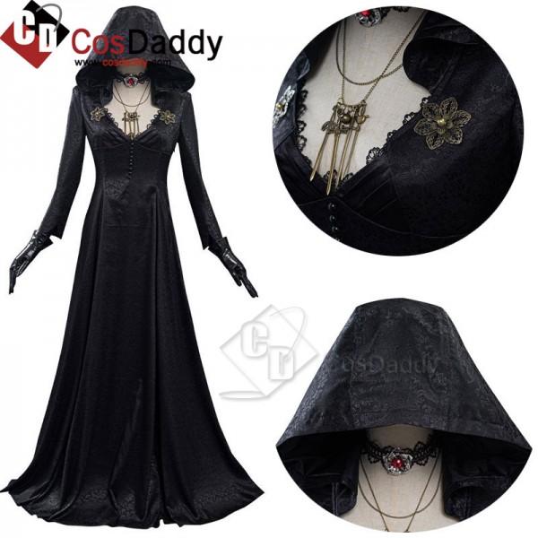 Resident Evil Village Vampire Lady Dress Lady Dimi...