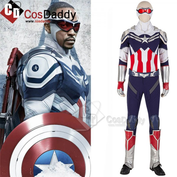 Captain America Sam Wilson Cosplay The Falcon and ...