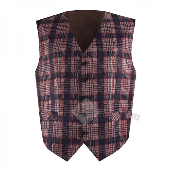 Doctor Who Fourth 4th Doctor Vest Waistcoat Tom Baker Dr Who Cosplay Costumes