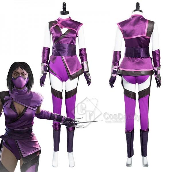 Mortal Kombat 11 Mk11 Mileena Cosplay Costume Sexy...