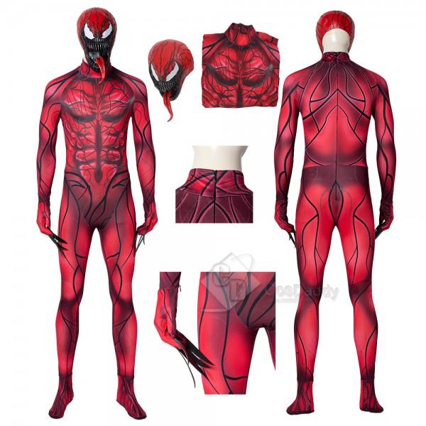 Venom 2 Carnage Cosplay Costume Halloween Bodysuit...