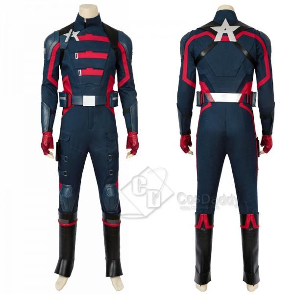 Captain America US Agent John Walker Cosplay Costu...