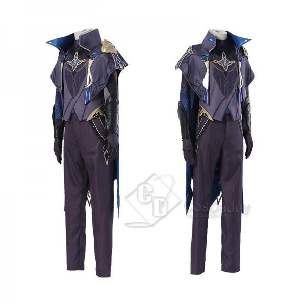 Genshin Impact Dainsleif Cosplay Costume Halloween Carnival Suit Full Set