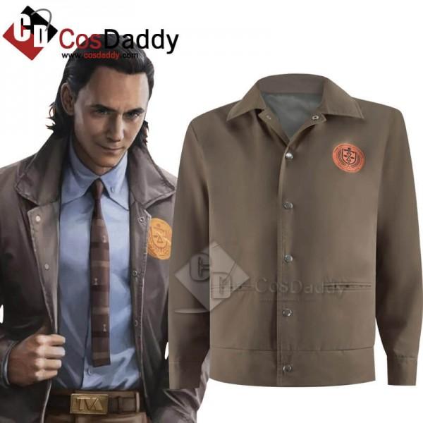 2021 Loki Jacket Outfits Loki Variant Halloween Co...