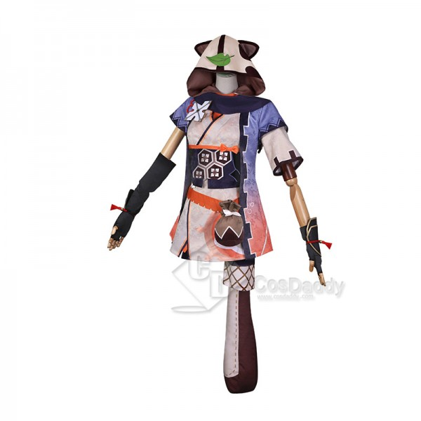 Genshin Impact Zaoyou Cosplay Costume Game Character Uniform With Tail