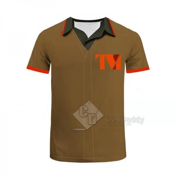 2021 Loki Shirt Tee TVA 3D Printed Short Sleeve T-Shirt Cosplay Costumes