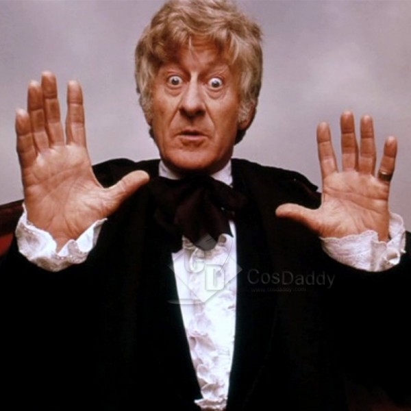 Doctor Who Season 1 Third Doctor Frilled Shirt Cos...