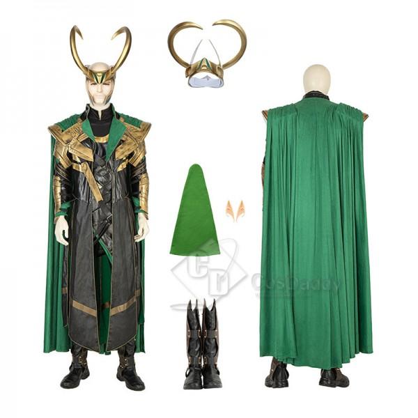 The Avengers Thor Loki Cosplay Costume Halloween S...