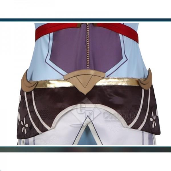 Genshin Impact Crane Cosplay Costume Game Suit Halloween Carnival Uniform