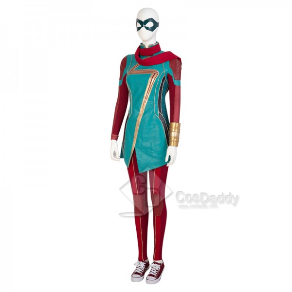 2021 Ms.Marvel New Kamala Khan Cosplay Costumes Female Halloween Outfit