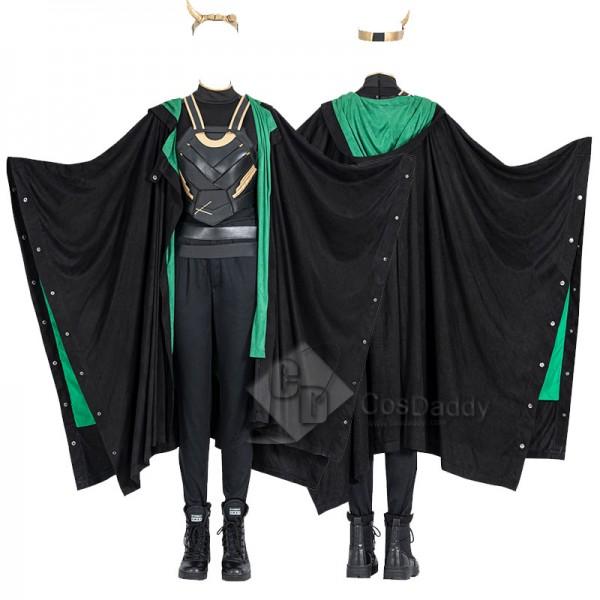 CosDaddy 2021 Female Lady Loki Cosplay Costume Lok...