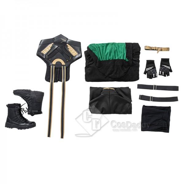 CosDaddy 2021 Female Lady Loki Cosplay Costume Loki Sylvie Dress Up Halloween Suit