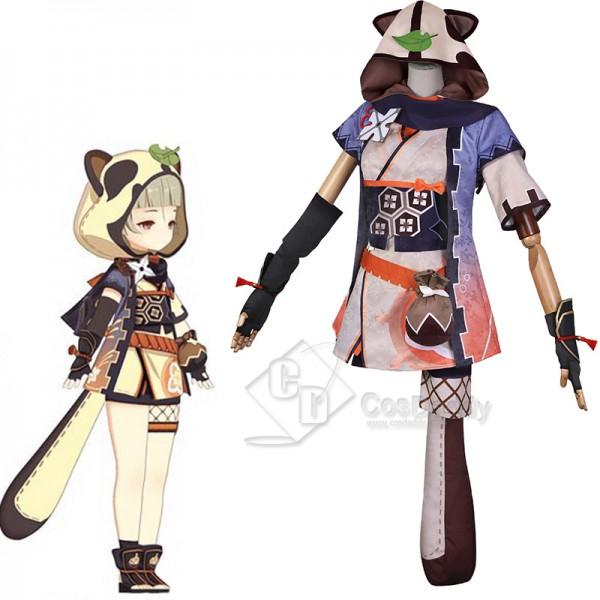 Genshin Impact Zaoyou Cosplay Costume Game Charact...