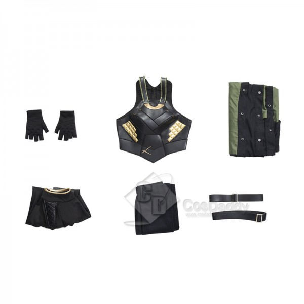 Lady Loki Sylvie Costumes Female Loki Halloween Cosplay Costumes Outfit CosDaddy