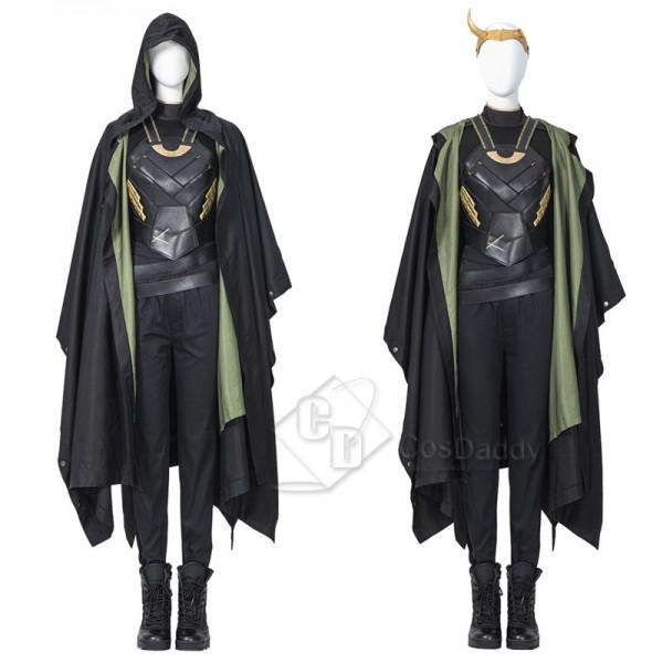 Lady Loki Sylvie Costumes Female Loki Halloween Co...