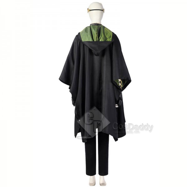 Loki 2021 Female Loki Sylvie Costumes Cloak Horns Lady Loki Halloween Cosplay Costumes