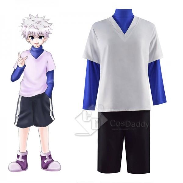 Hunter X Hunter Cosplay Killua Zoldyck Costume Shi...
