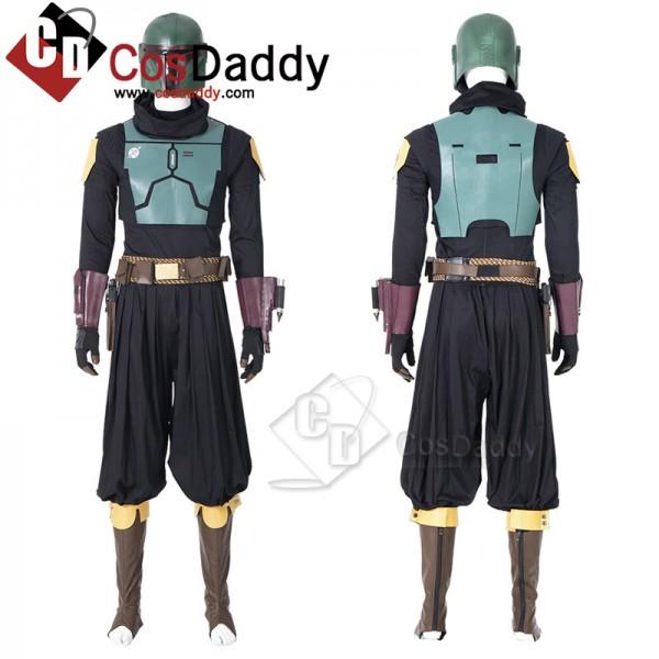 The Mandalorian Boba Fett Cosplay Costume Hallowee...