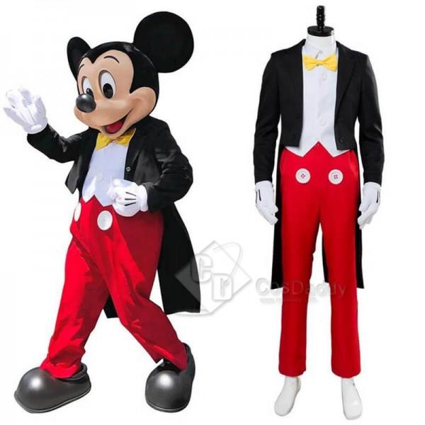 Disney Mickey Mouse Dinner Suit Tuxedo Halloween C...