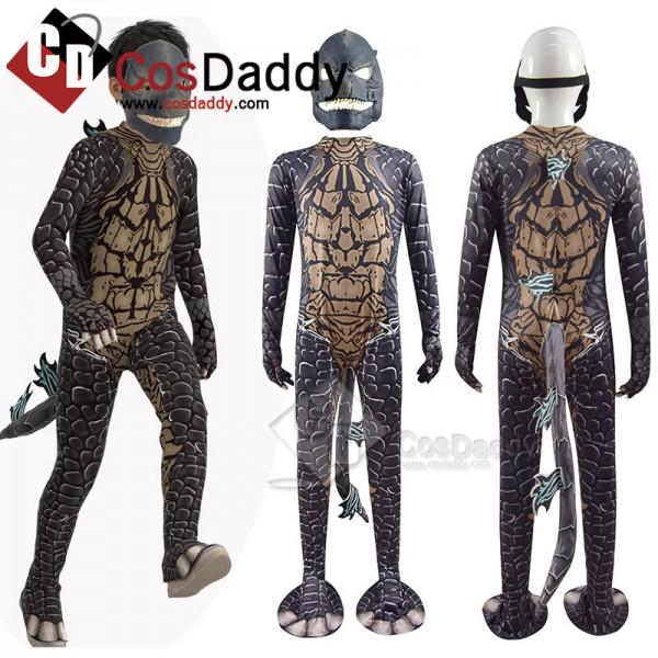 Godzilla Vs Kong Cosplay Costume Dinosaur Performa...