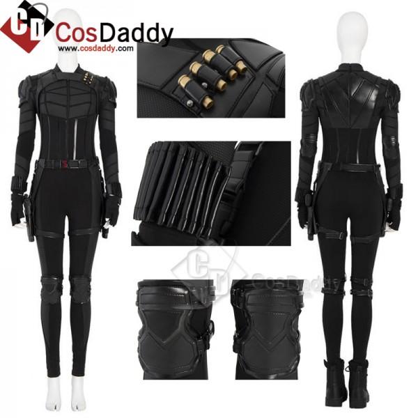 Black Widow 2021 Yelena Belova Costumes Women Hall...