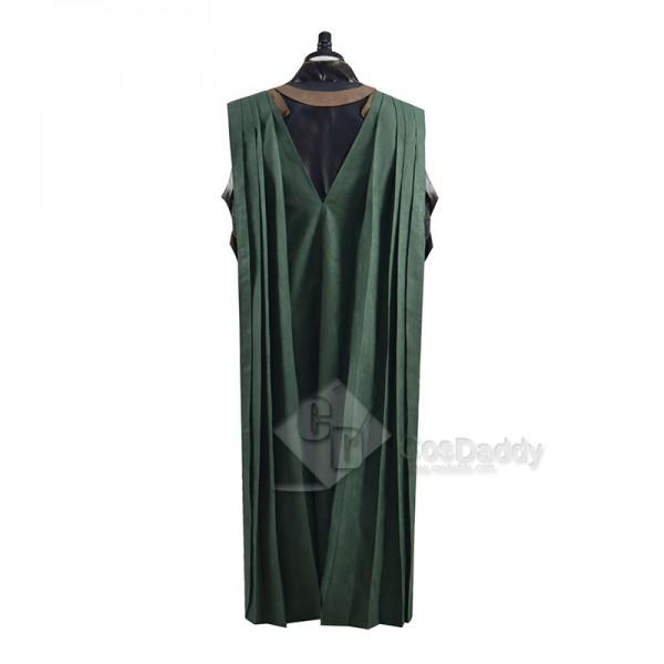 Marvel Loki Season 1 Loki Cosplay Costume Armor Cloak Outfit Halloween Carnival Suit