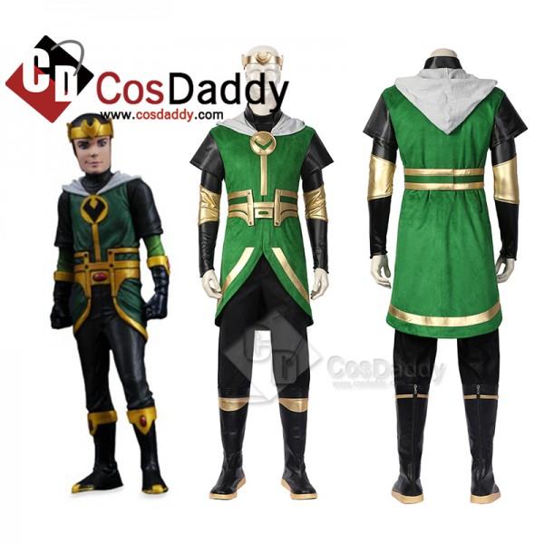 Kid Loki Cosplay Marvel Loki 2021 Costume Hallowee...