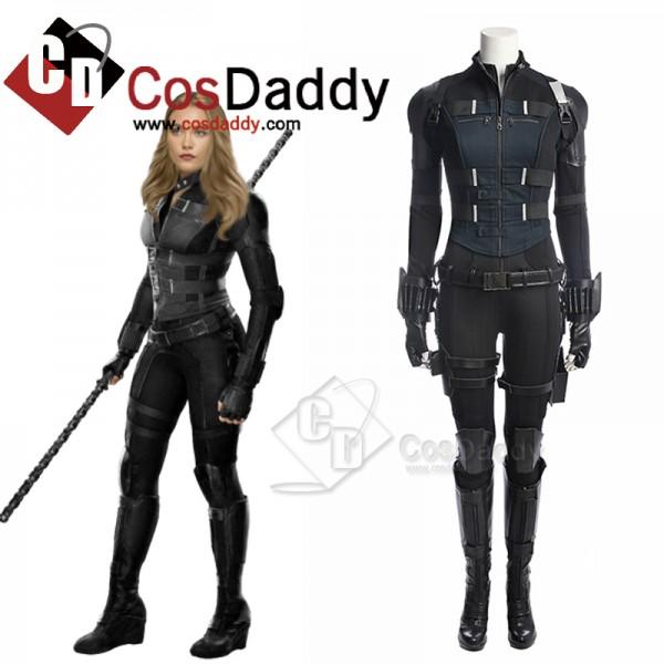 2021 New Black Widow Yelena Belova Cosplay Costume...