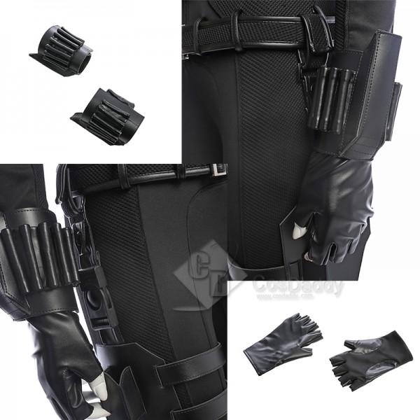 2021 New Black Widow Yelena Belova Cosplay Costume Black Outfit Halloween Carnival Suit