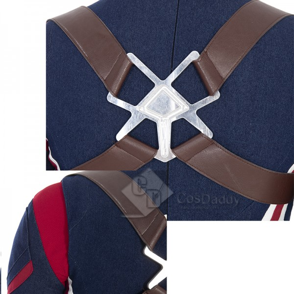 What If Peggy Carter Cosplay Costume Captain Carter Jumpsuit Super Soldier Outfit