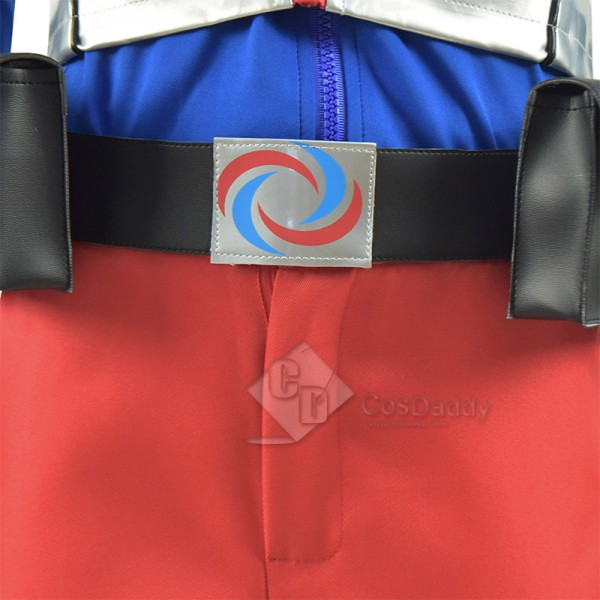 Kids Henry Danger Cosplay Costume Blue Jacket Uniform Halloween Carnival Suit