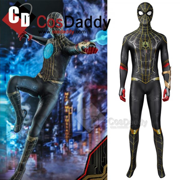 Spider-Man 3 No Way Home Peter Parker Cosplay Cost...
