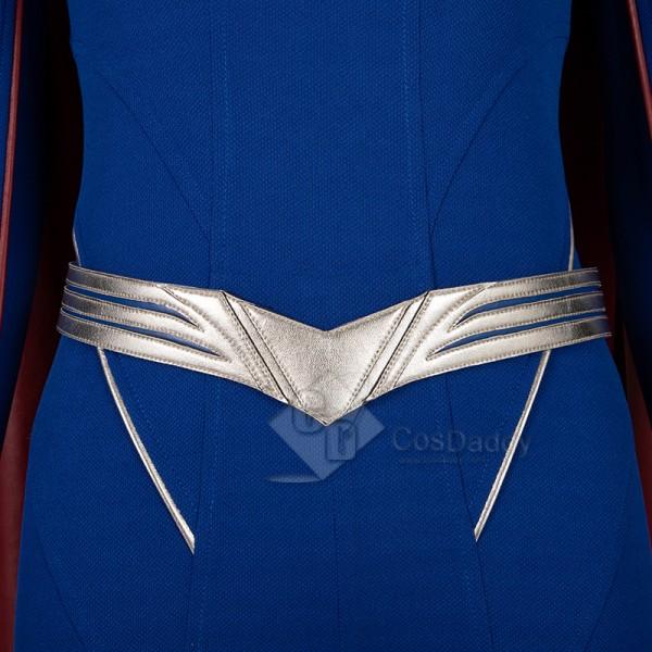 Supergirl Season 5 Kara Zor-El Cosplay Costume Overgirl Jumpsuit Superhero Bodysuit
