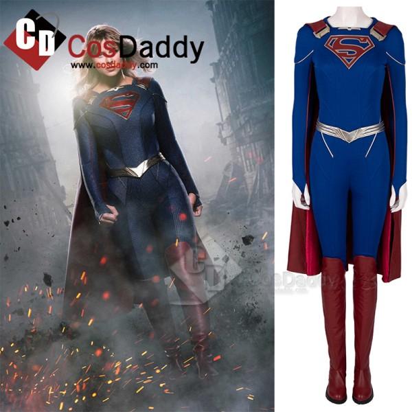 Supergirl Season 5 Kara Zor-El Cosplay Costume Ove...