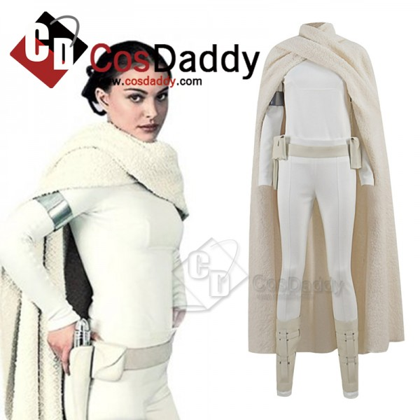 Star Wars Padme Amidala Cosplay Costume Padme Batt...