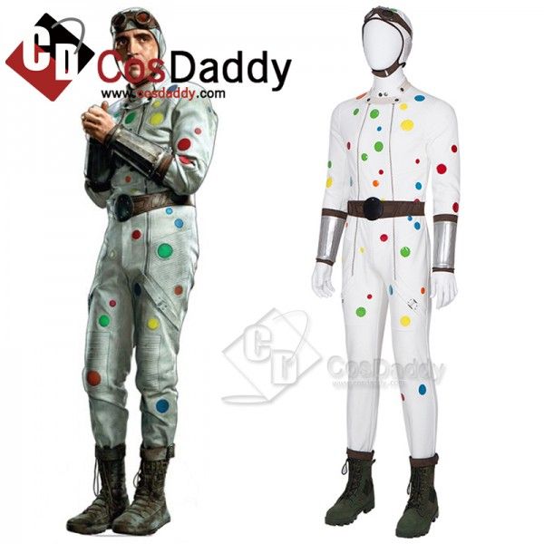 CosDaddy 2021 Movie The Suicide Squad Polka-Dot Ma...