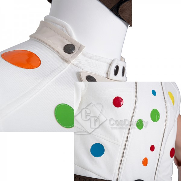 CosDaddy 2021 Movie The Suicide Squad Polka-Dot Man Abner Krill Cosplay Costume
