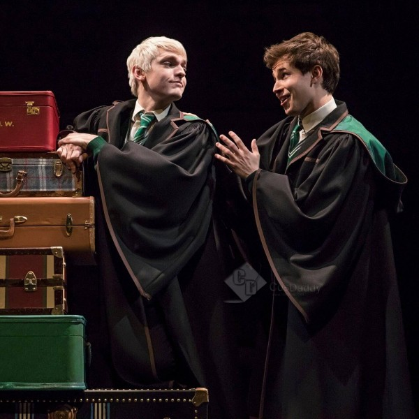 Harry Potter and the Cursed Child Slytherin Robe S...