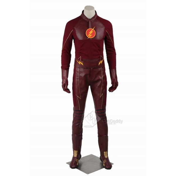 Cosdaddy The Flash Barry Allen Cosplay bodysuit Ba...