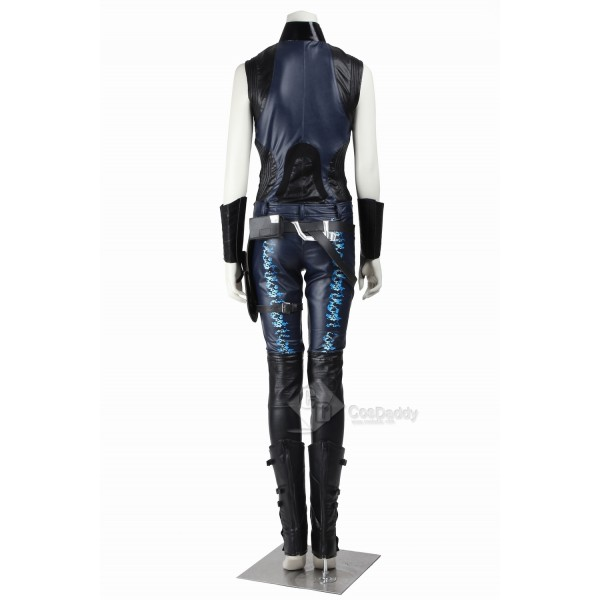 Cosdaddy Guardians of the Galaxy Gamora Zen Whoberi Ben Titan Cosplay Black Costume