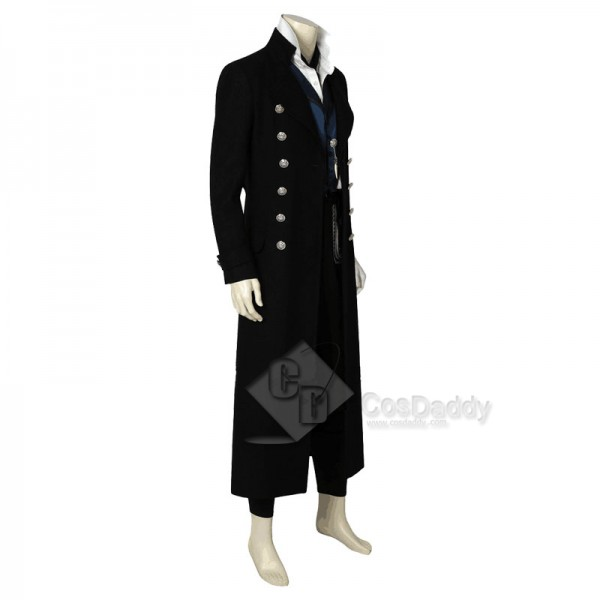 Fantastic Beasts 2 The Crimes of Grindelwald Gellert Grindelwald Cosplay Costume