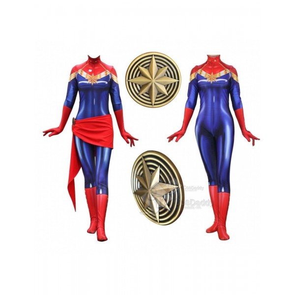 Captain Marvel Ms. Marvel Carol Danvers Cospaly Ze...