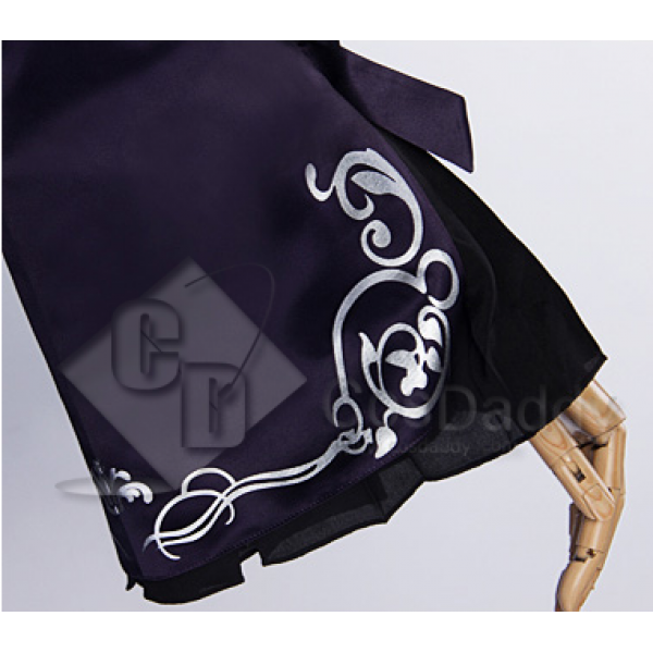 Cosdaddy Fate Zero Black Saber Dress Suit Cosplay Costume